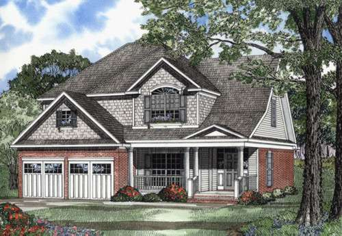 Southern Style Floor Plans Plan: 12-508