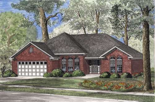 Traditional Style Home Design Plan: 12-513