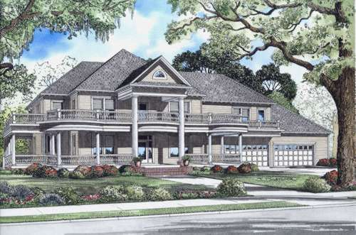 Southern Style Floor Plans Plan: 12-514
