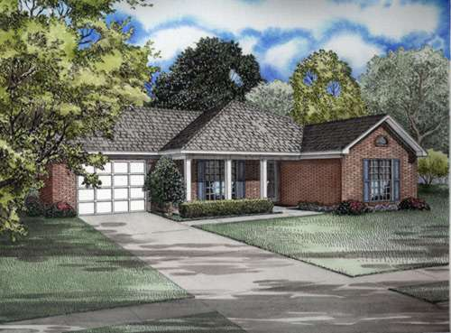 Southern Style House Plans Plan: 12-520