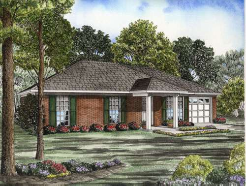 Traditional Style Floor Plans Plan: 12-521