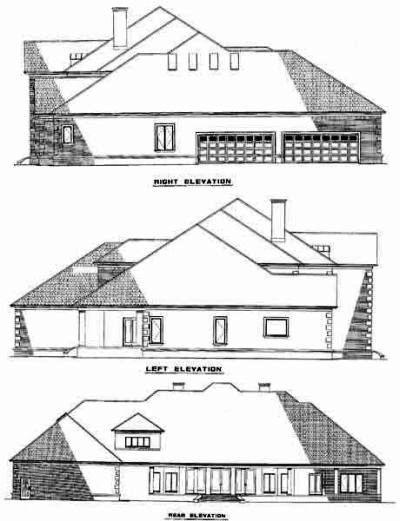 Rear Elevation Plan: 12-524