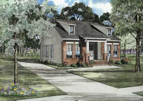 Southern Style House Plans Plan: 12-529