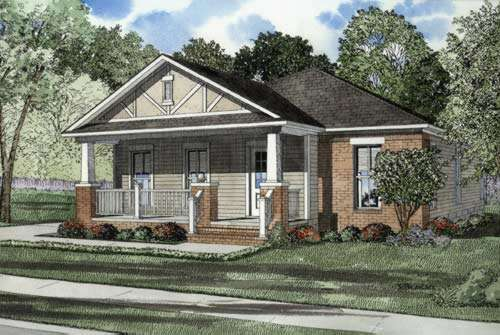 Bungalow Style House Plans Plan: 12-531