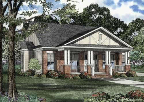 Bungalow Style House Plans Plan: 12-532