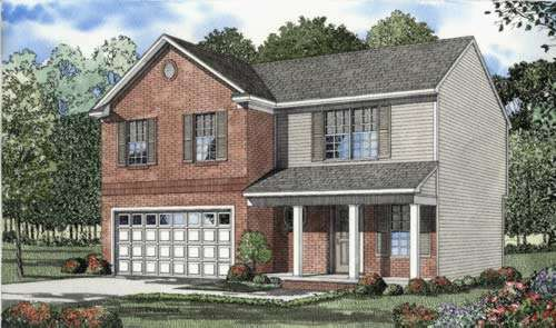 Traditional Style Floor Plans 12-536