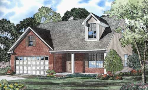 Southern Style House Plans Plan: 12-538
