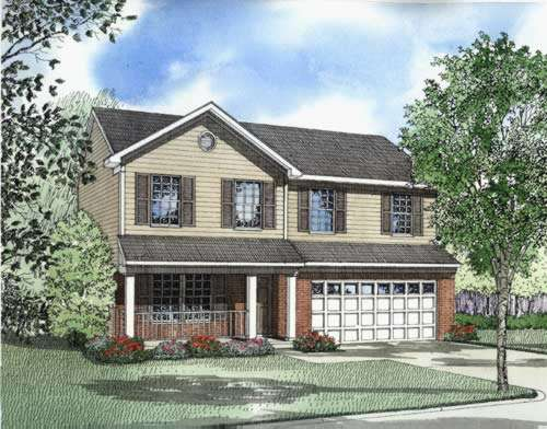 Traditional Style Home Design Plan: 12-540