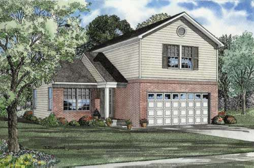 Traditional Style Floor Plans Plan: 12-543