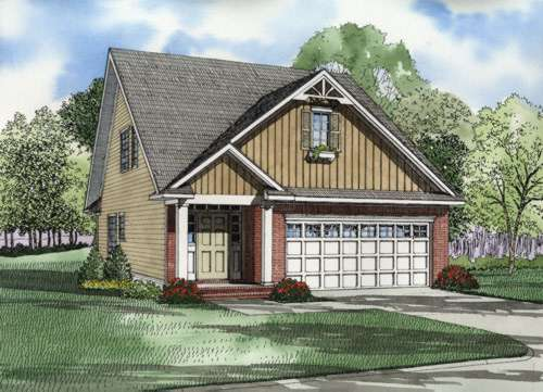 Country Style House Plans Plan: 12-544