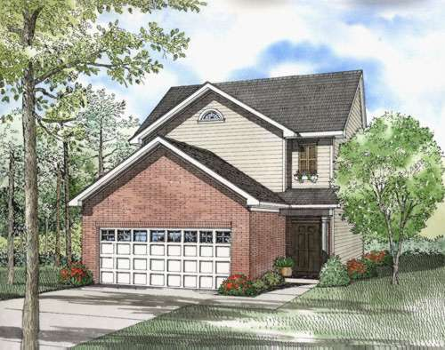 Traditional Style House Plans Plan: 12-546