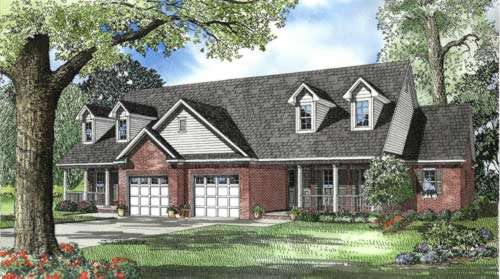 Southern Style House Plans Plan: 12-556