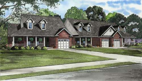 Traditional Style Floor Plans Plan: 12-558