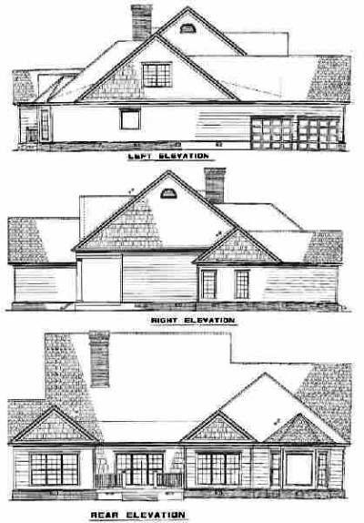 Rear Elevations Plan:12-560
