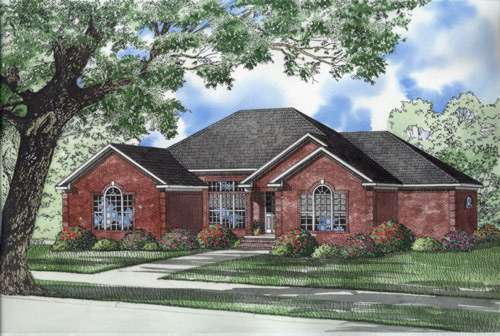 Traditional Style Floor Plans Plan: 12-562