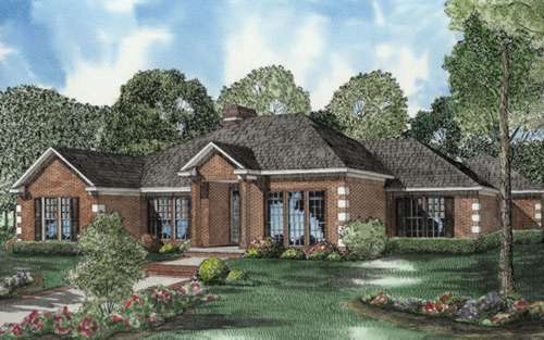 European Style Floor Plans Plan: 12-573