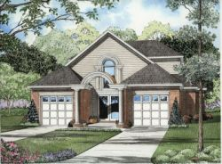 Contemporary Style House Plans Plan: 12-575