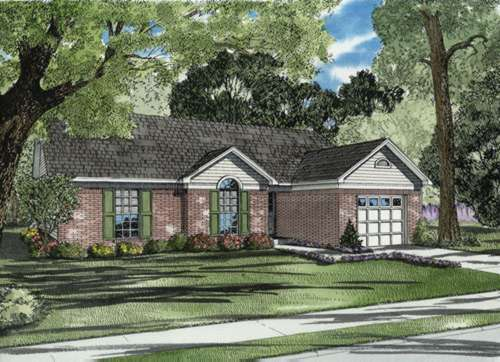 Traditional Style Floor Plans Plan: 12-576