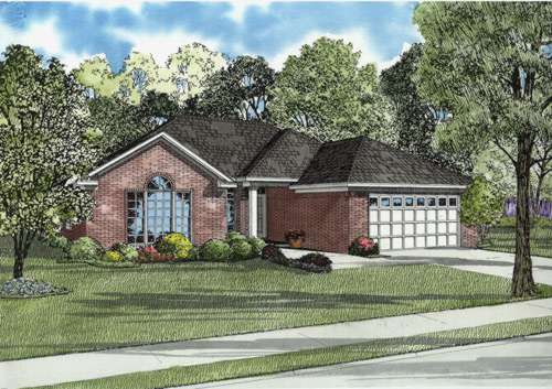 Traditional Style House Plans Plan: 12-577