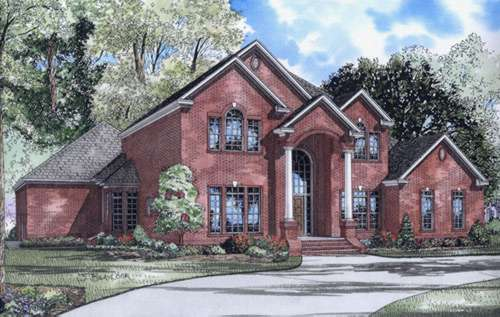 European Style Floor Plans Plan: 12-579