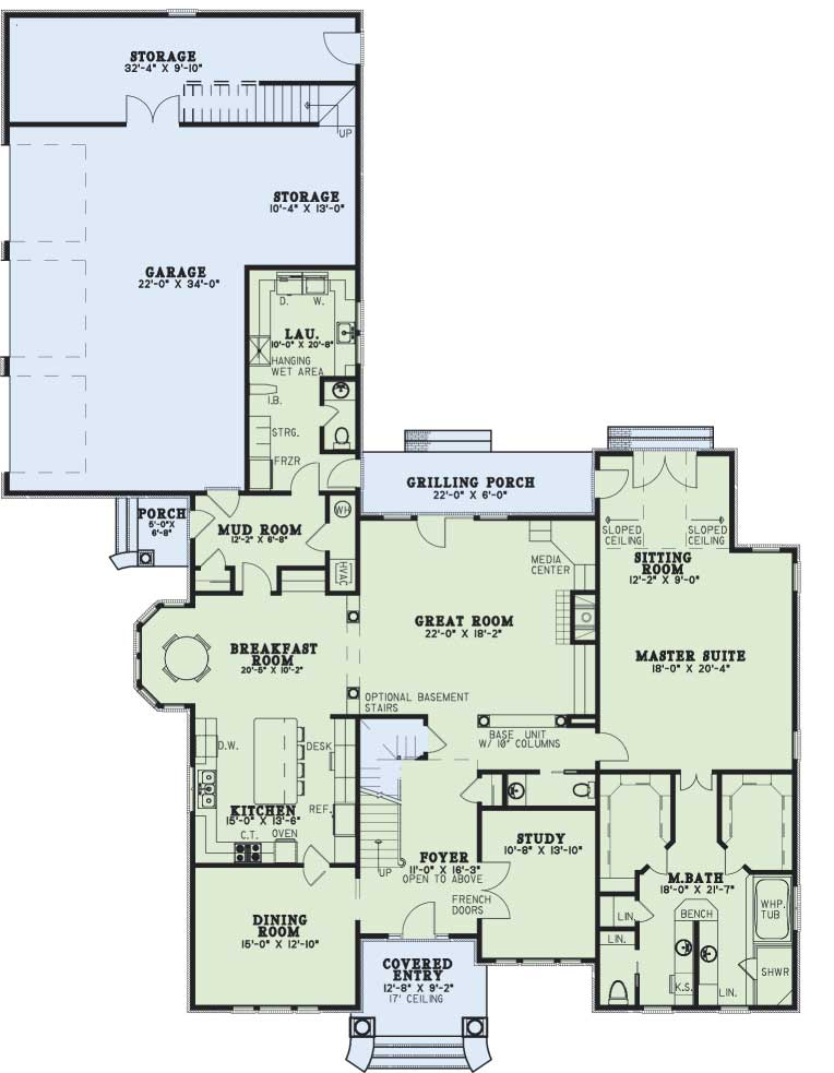 Main Floor Plan: 12-579