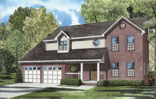 Traditional Style Floor Plans Plan: 12-580