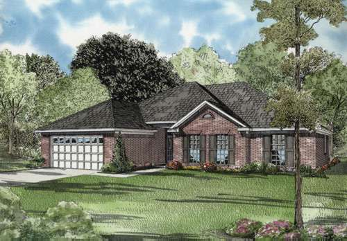 Traditional Style Floor Plans Plan: 12-581