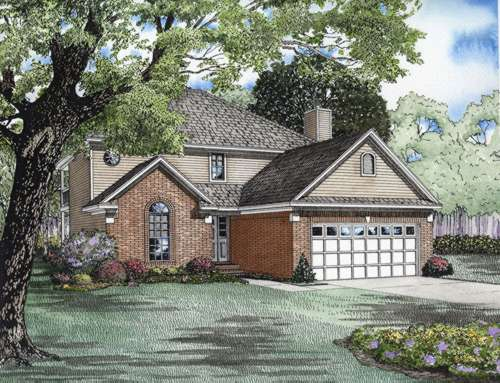 Traditional Style Floor Plans Plan: 12-585