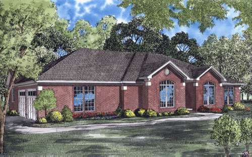 Traditional Style Floor Plans Plan: 12-590
