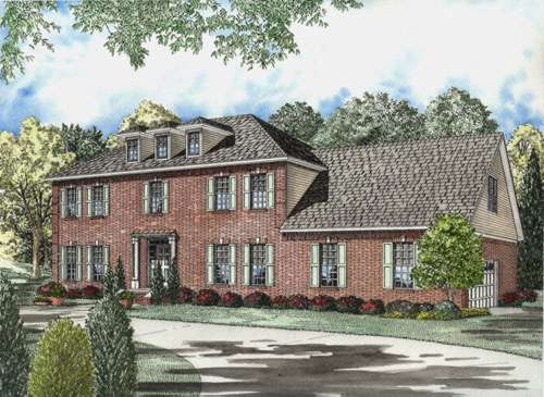 Southern Style House Plans Plan: 12-592