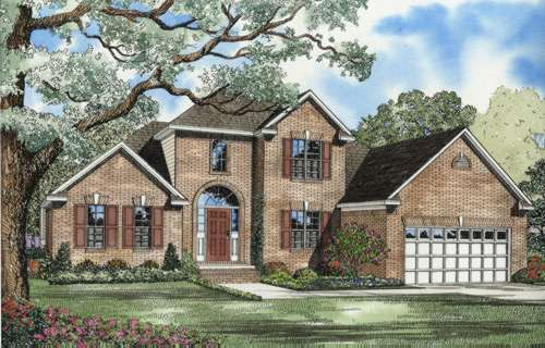 Traditional Style Floor Plans Plan: 12-594
