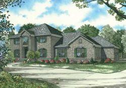 European Style House Plans Plan: 12-600