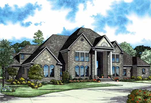 European Style Floor Plans Plan: 12-602
