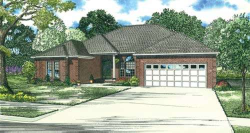 Traditional Style Floor Plans Plan: 12-603