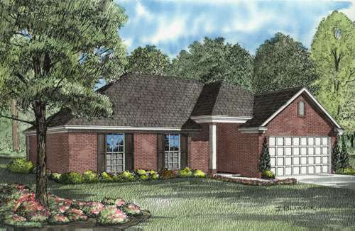 Traditional Style House Plans Plan: 12-605