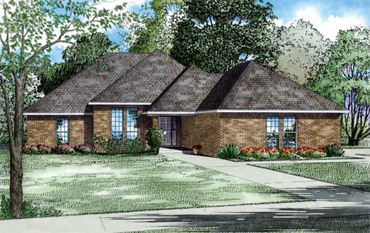 Traditional Style Floor Plans Plan: 12-608