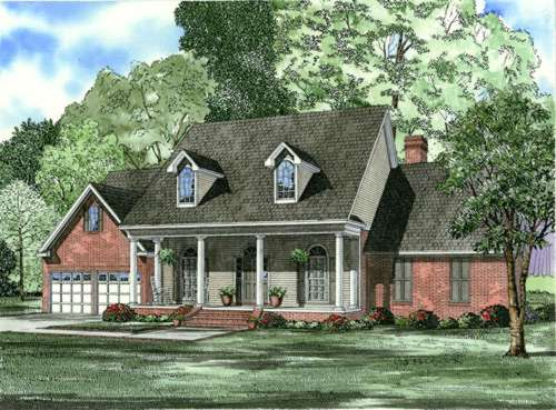 Southern Style House Plans Plan: 12-610