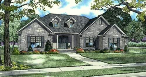 Traditional Style Floor Plans Plan: 12-612