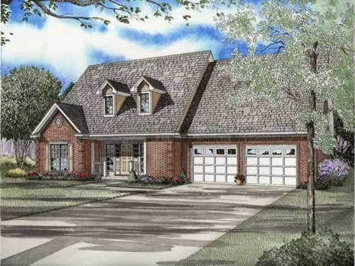 Southern Style Home Design Plan: 12-614