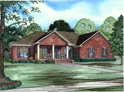 Traditional Style House Plans Plan: 12-616