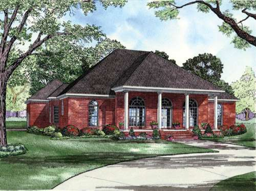 Southern Style House Plans Plan: 12-618