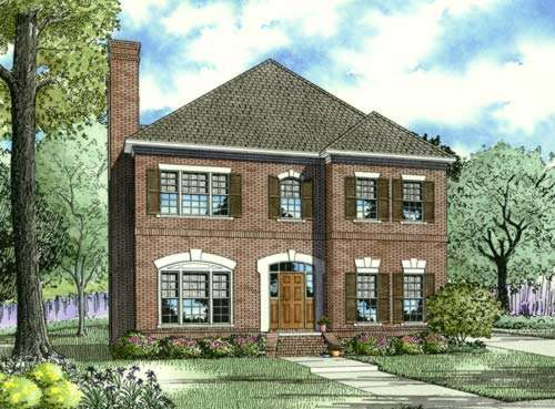 Early-American Style House Plans Plan: 12-630