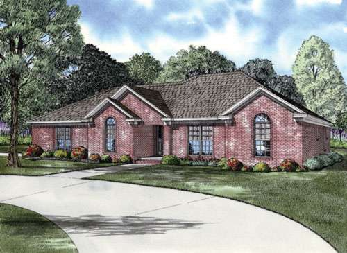 Traditional Style Floor Plans Plan: 12-634