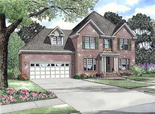 Traditional Style Floor Plans Plan: 12-636