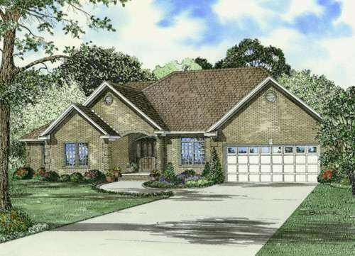 Traditional Style House Plans Plan: 12-637