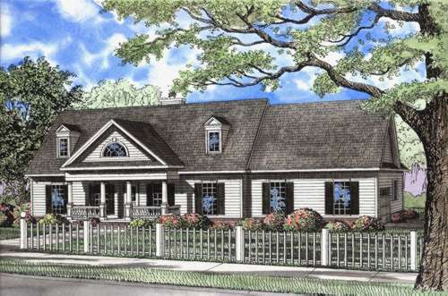 Southern Style House Plans Plan: 12-647
