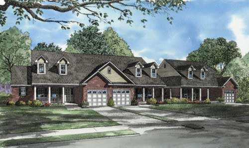 Traditional Style House Plans Plan: 12-648