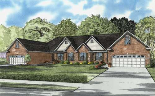 Traditional Style House Plans Plan: 12-651