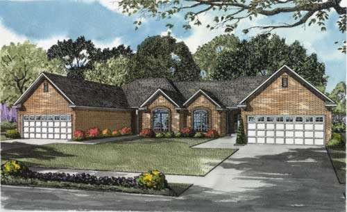 Traditional Style Home Design Plan: 12-652
