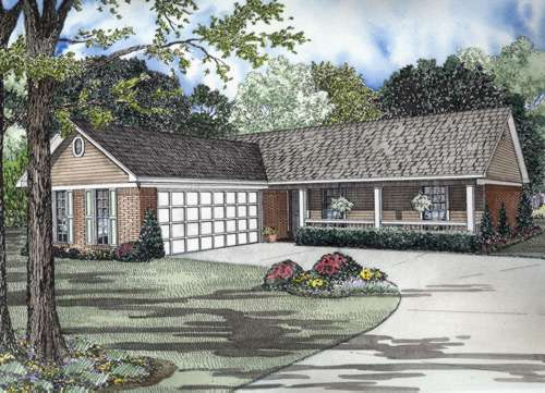 Ranch Style House Plans Plan: 12-654
